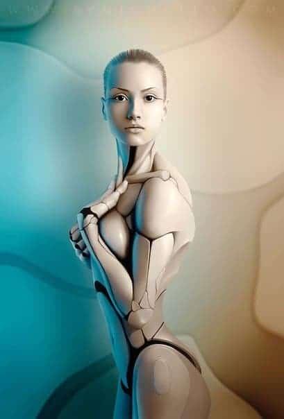 Пресет Экшен помогающий превращать моделей в роботов для lightroom