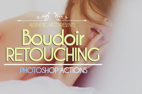 Пресет ★ Boudoir Retouching Photoshop Actions ★ для lightroom
