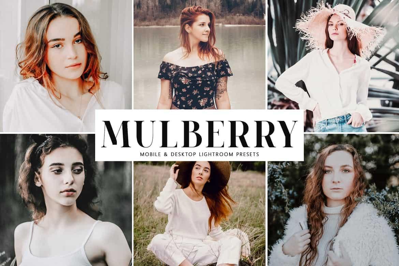 Пресет Mulberry для lightroom