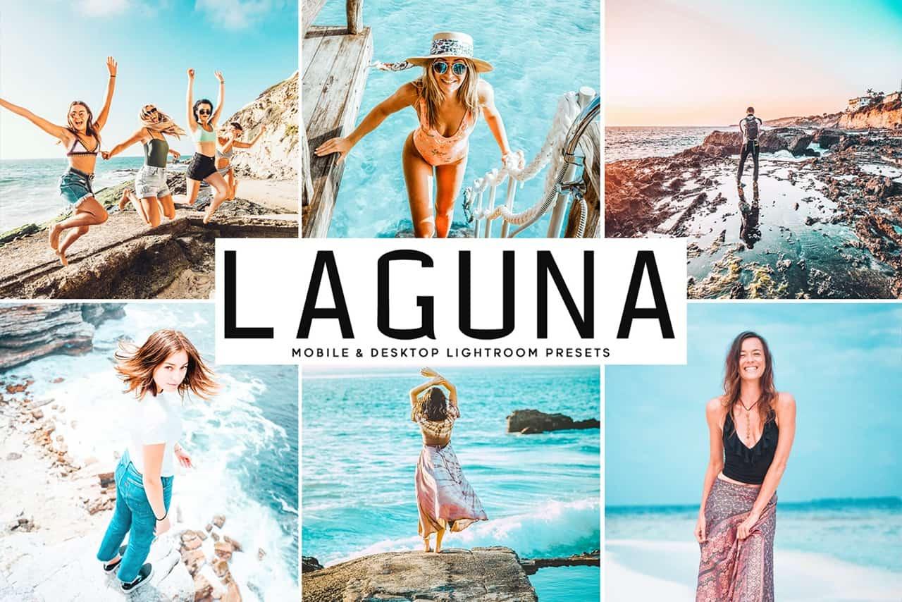 Пресет Laguna для lightroom