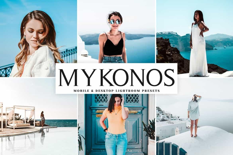 Пресет Mykonos для lightroom