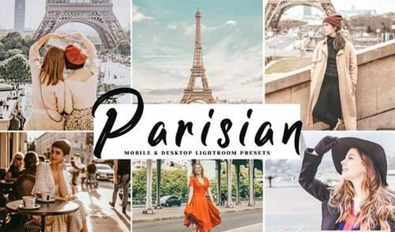 Пресет Parisian для lightroom