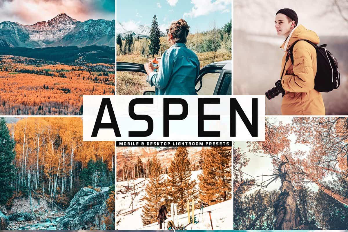 Пресет Aspen для lightroom