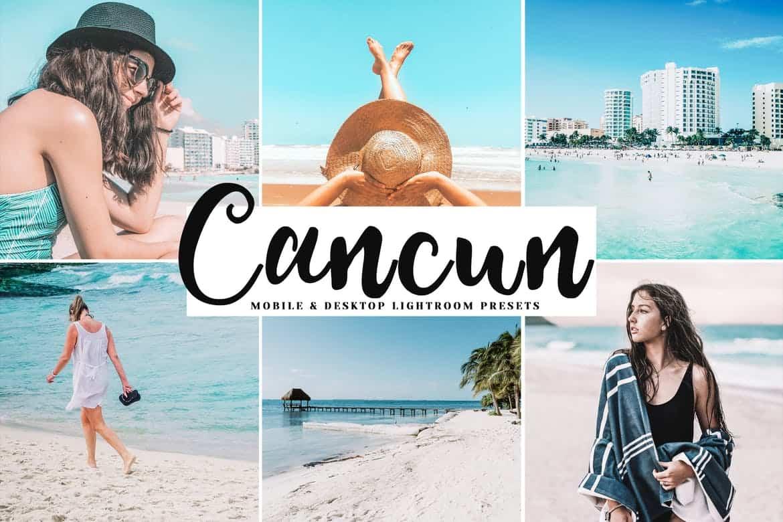 Пресет Cancun для lightroom