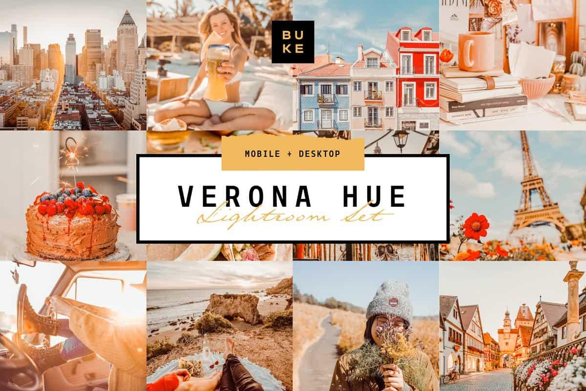 Пресет Verona hue для lightroom