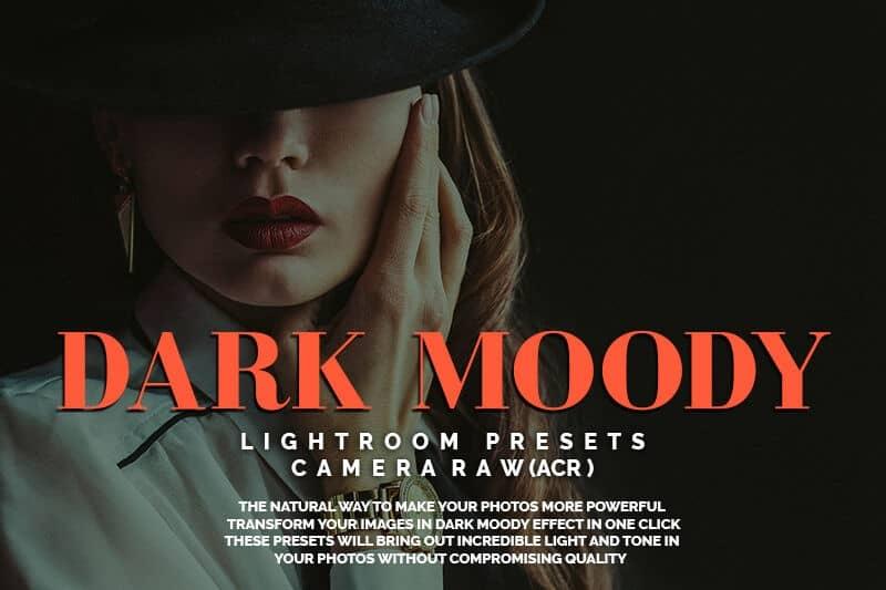 Пресет Dark Moody для lightroom