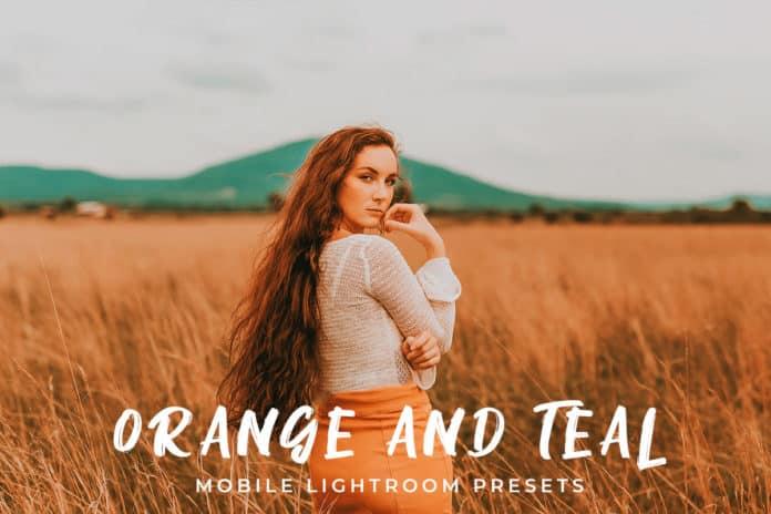 Пресет Orange and Teal для lightroom