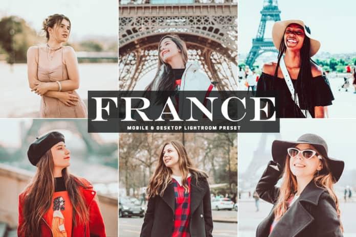 Пресет France для lightroom