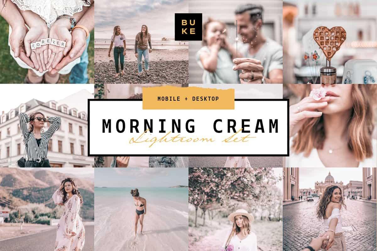 Пресет Morning Cream для lightroom