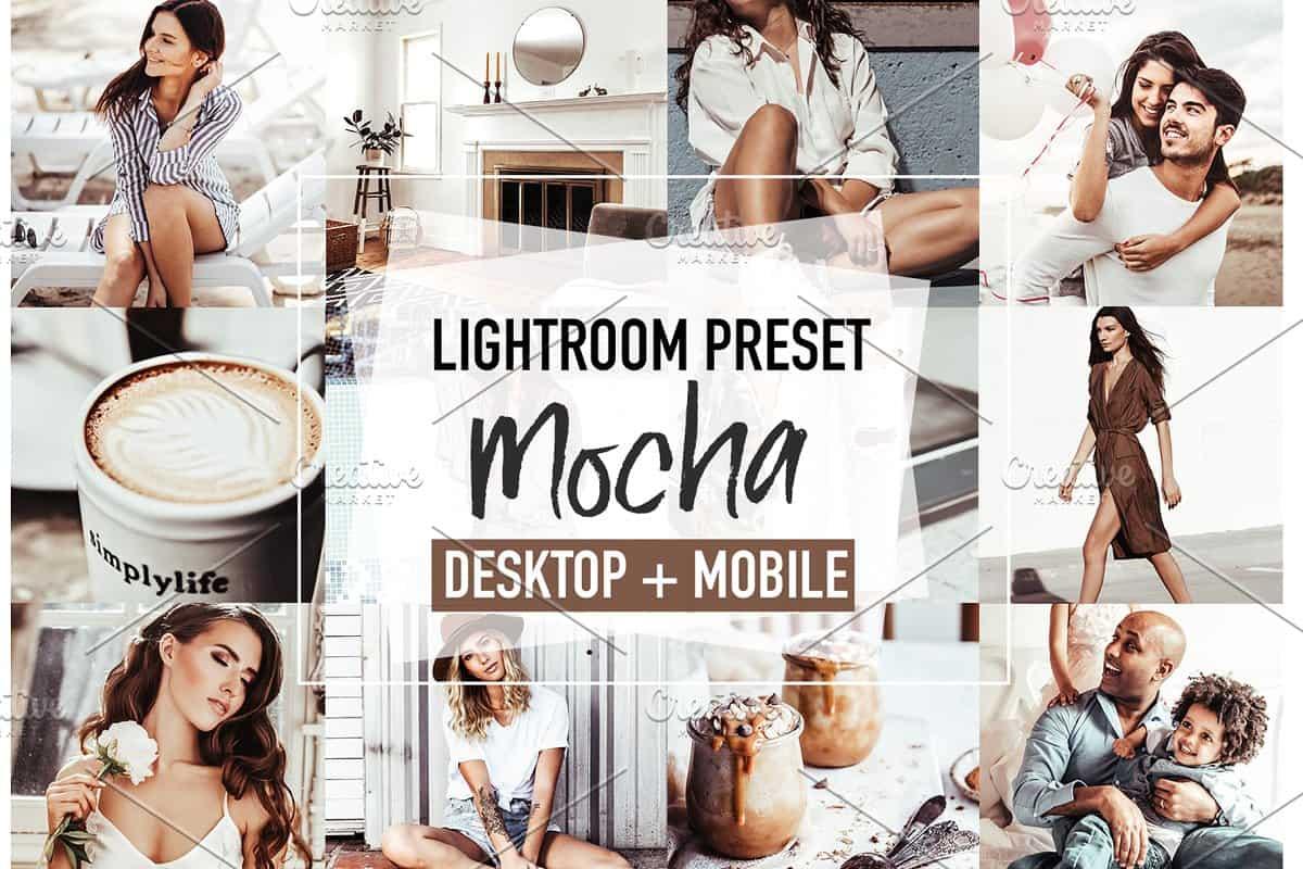 Пресет Mocha для lightroom