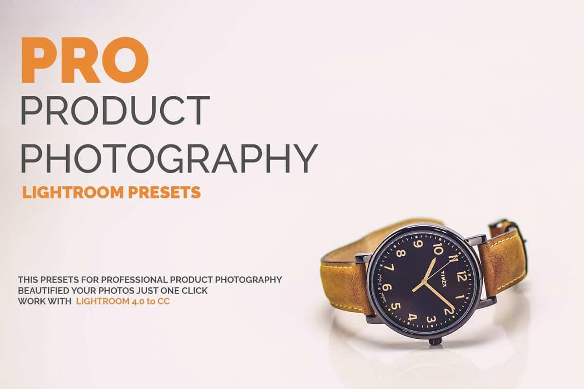 Пресет Pro Product Photography для lightroom