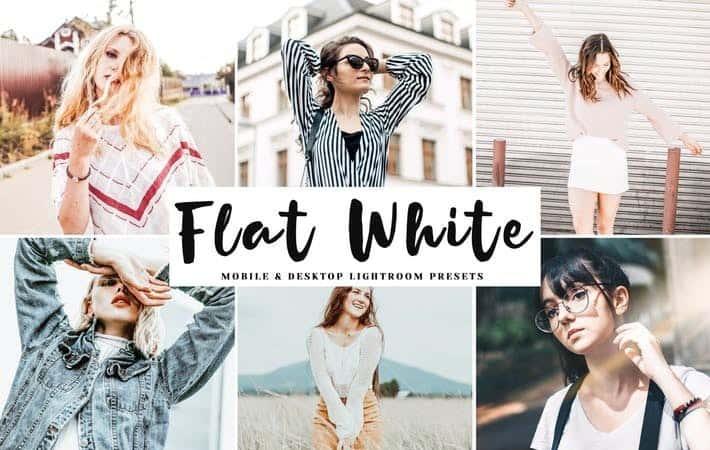 Пресет Flat White для lightroom