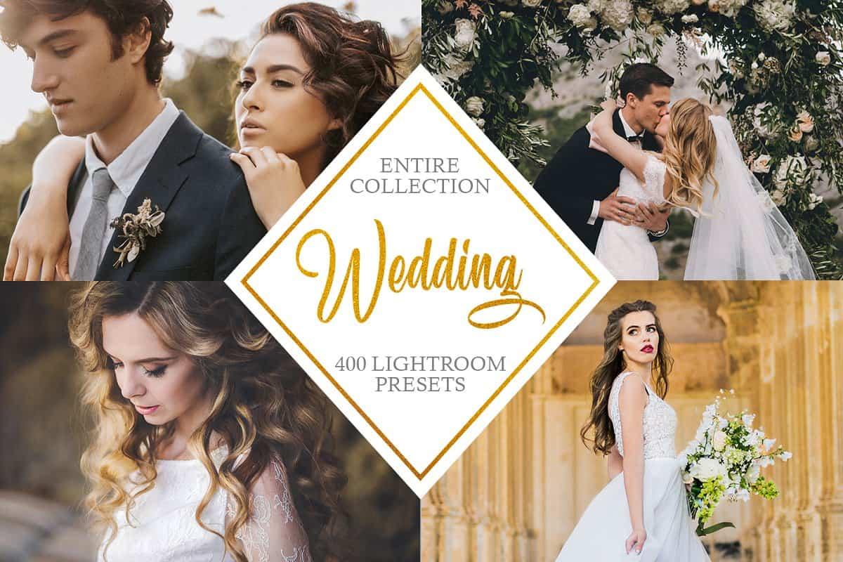 Пресет Entire Wedding Collection для lightroom