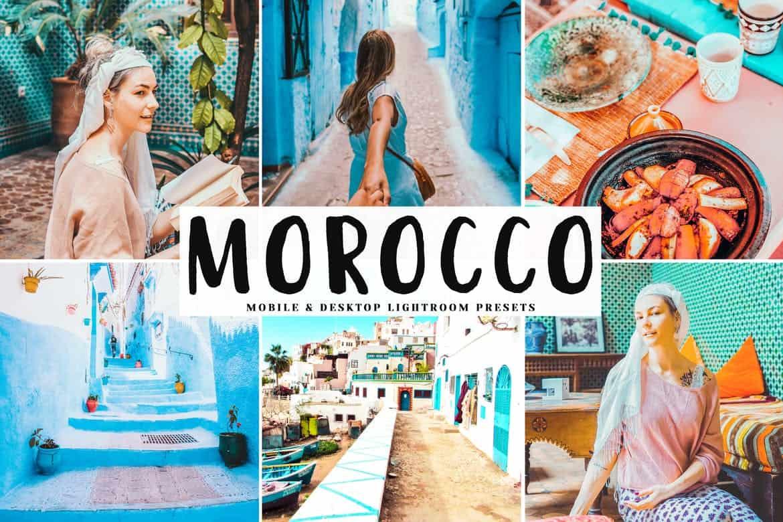Пресет Morocco для lightroom