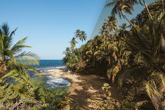 Пресет Tropical Beaches для lightroom