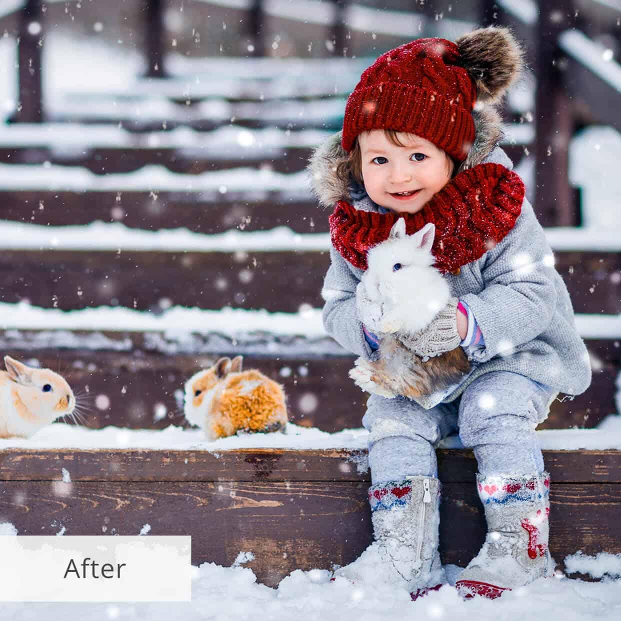 Пресет Snow Shine для lightroom